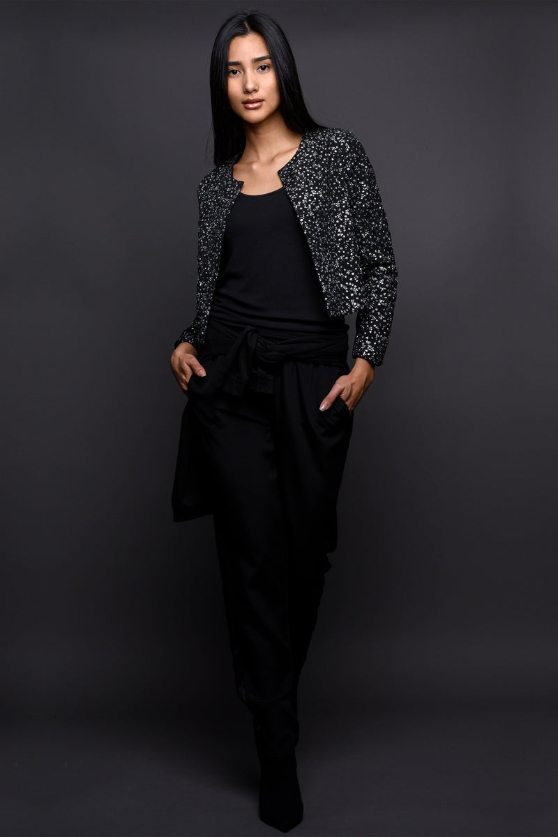 Sequin Jacket Outerwear Marie France Van Damme