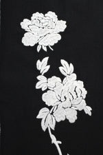 Sleeveless Rose Embroidered Dress Marie France Van Damme