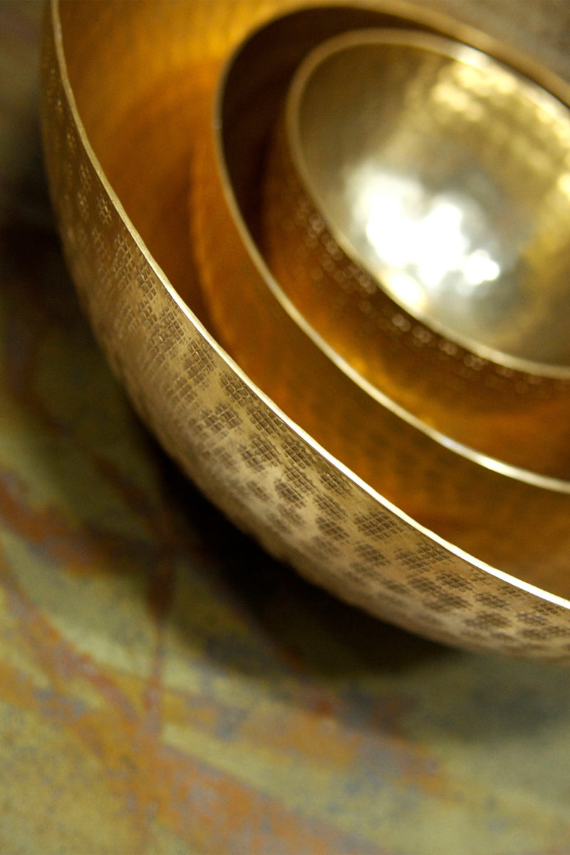 XLBOOM | Moon Large Brass Marie France Van Damme