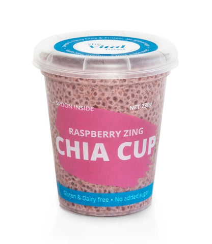 Raspberry Zing Chia Cup (6 pack)