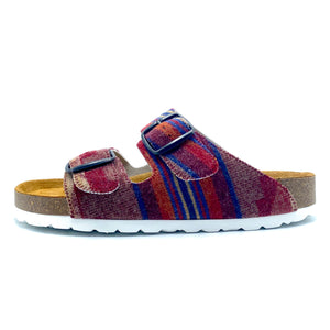 Thora 2-buckle Sandals | Red Native Trail Wool