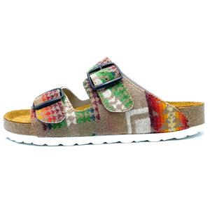 Thora 2-buckle Sandals | Chief Joseph Khaki
