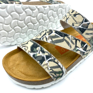 Torun 3-strap Velcro Sandals | County Camouflage