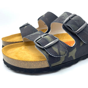 Thora 2-buckle Sandals | MultiCam Black Camouflage
