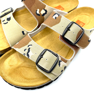 Thor 2-buckle Slide Sandals | Chocolate Chip Camo