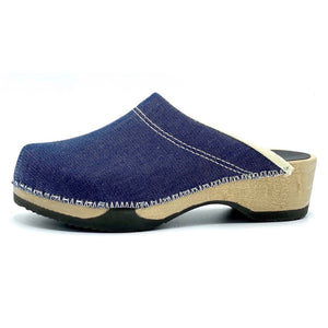 Embla Clogs | Japanese Denim