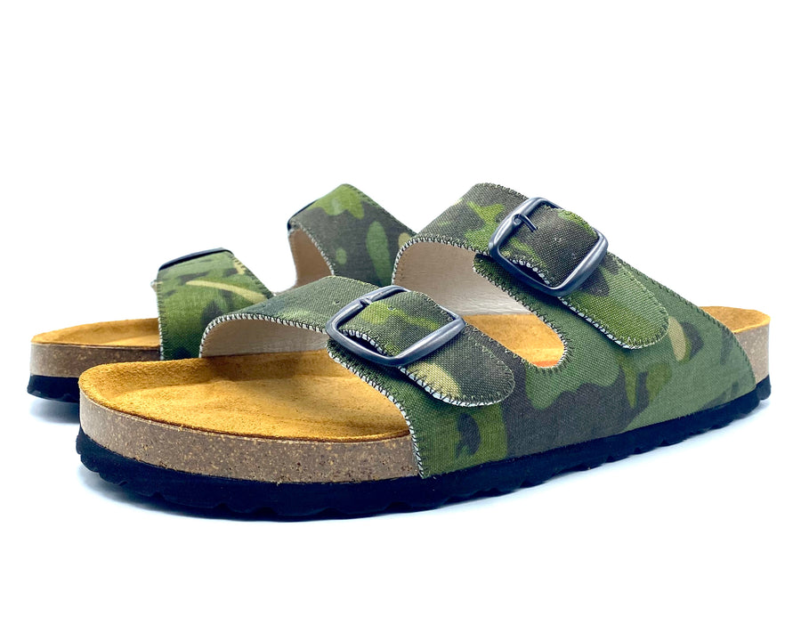 Thor 2-Buckle Slide Sandals | Tropic MultiCam