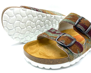 Thora 2-buckle Sandals | Diamond River Sage