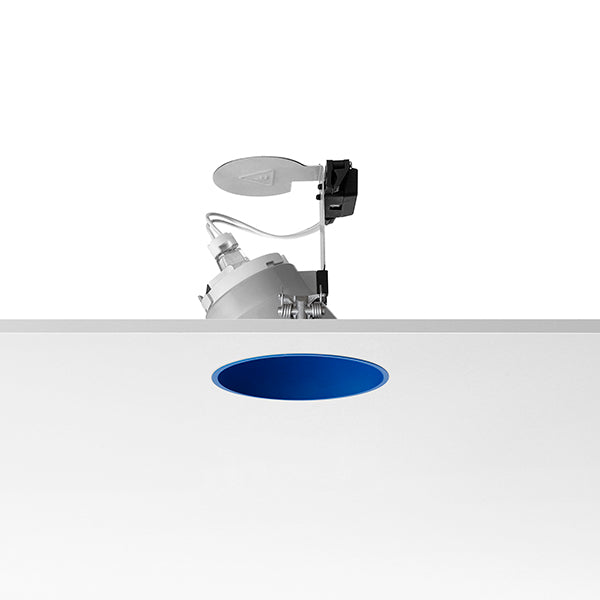 Embutido Easy Kap Wall-Washer Ip44 Azul (03.4455.Bu)