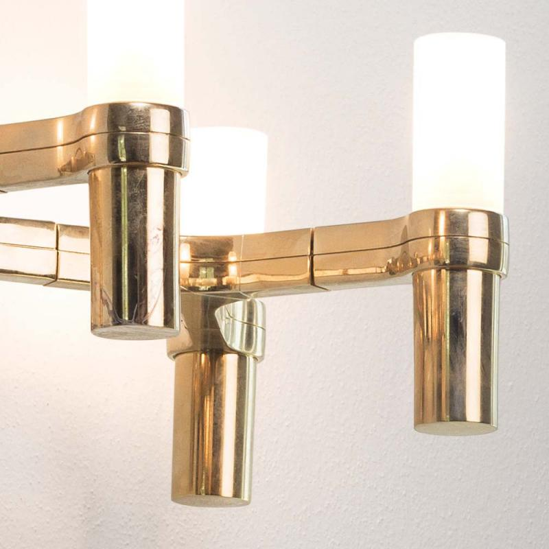 Arandela Crown Gold Plated 4Xg9 (Crohow32)