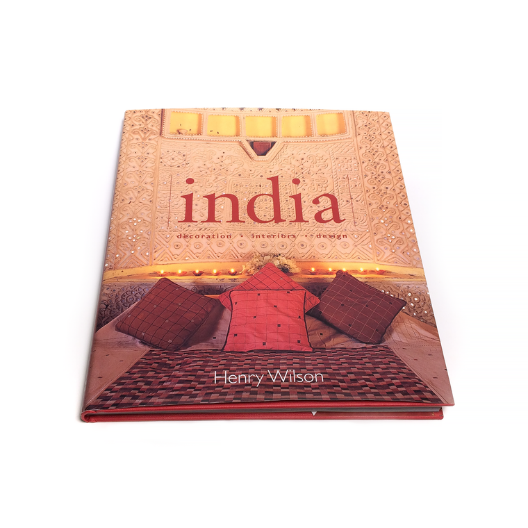 India: Decoration, Interiors and Design Hardcover Book