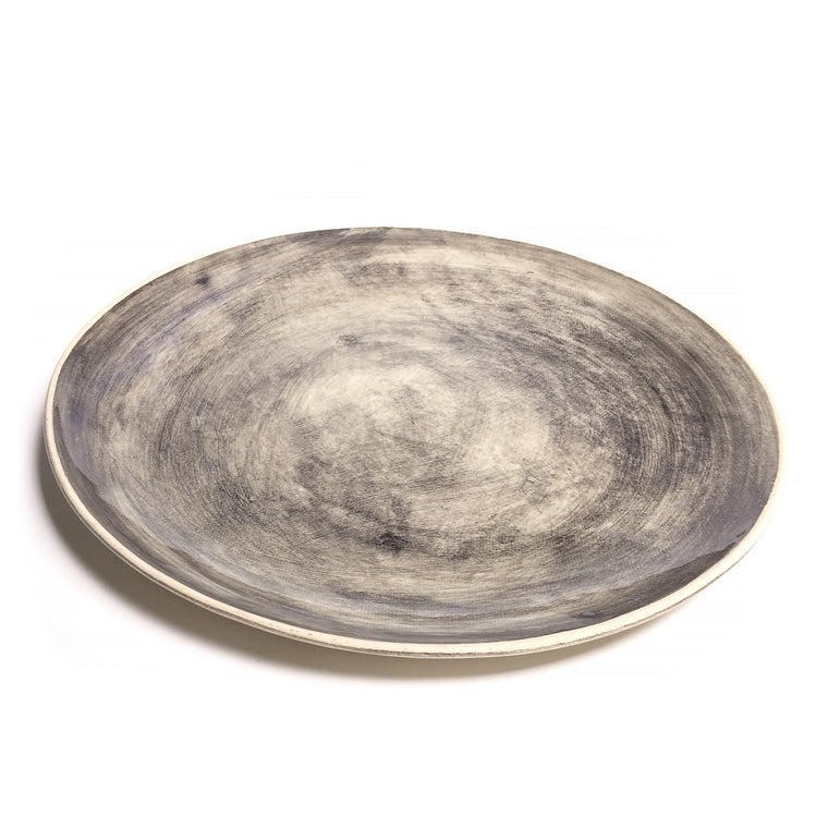 Charcoal Dinner Plate