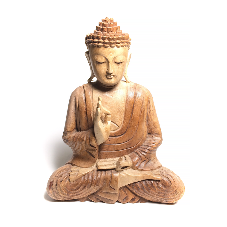 Wooden Carved Buddha