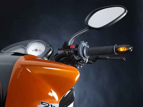 Kellermann BL 1000 (LED, Dark & PL) - Rocket Bobs Cycle Works