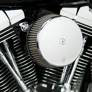 Arlen Ness Stage 1 Billet Sucker Air Cleaner Kit - Rocket Bobs Cycle Works