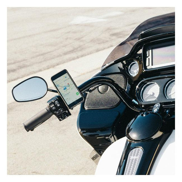 SP Connect Smartphone Clutch / Brake Clamp Mount - Rocket Bobs Cycle Works