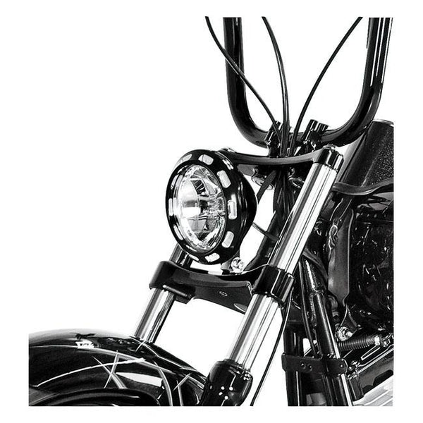 "Performance Machine 5-3/4"" Vision Headlamps - Rocket Bobs Cycle Works"