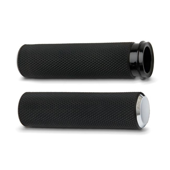 Arlen Ness Knurled Grips - Rocket Bobs Cycle Works
