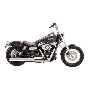 Vance & Hines Pro-Pipe 2-into-1 Exhaust (Harley Dyna, Softail & Touring) - Rocket Bobs Cycle Works