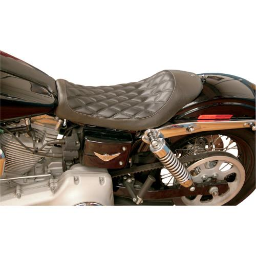 RSD Boss Solo Seat for Harley Dyna - Rocket Bobs Cycle Works
