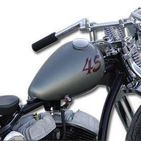 Custom Narrow Axed style Gas Tank - Rocket Bobs Cycle Works