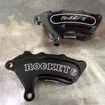 Billet Slimline 6 Piston Race Caliper - Rocket Bobs Cycle Works