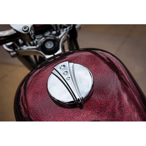 Kuryakyn Deco Gas Cap - Rocket Bobs Cycle Works