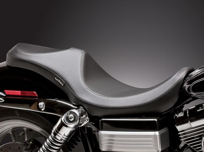 Le Pera Villain 2-Up Seat - Dyna - Rocket Bobs Cycle Works