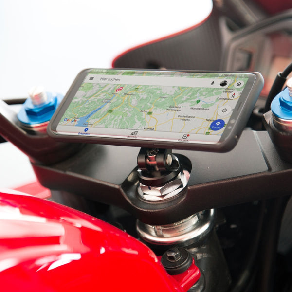 SP Connect Smartphone Moto Stem Mount for Clip-Ons - Rocket Bobs Cycle Works
