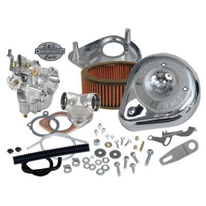 S&S Super E Carburetor Kit for XL models - Rocket Bobs Cycle Works