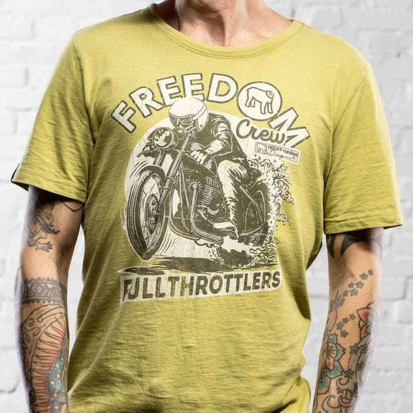Holy Freedom Rocker T-Shirt - Rocket Bobs Cycle Works