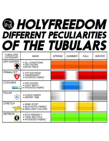 Holy Freedom Primaloft Tunnel (Lightweight) - Various Designs - Rocket Bobs Cycle Works