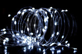 Silver Wire Fairy Lights (White)