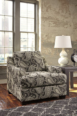 Ashley Fabric Gypsum Single Sofa