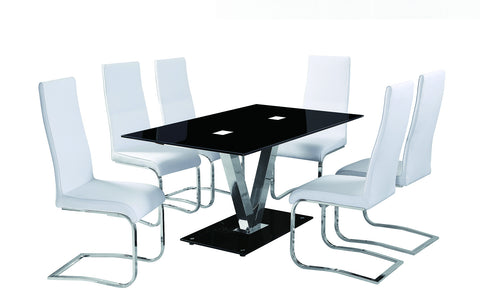 MAJORCA Glass Dining Table