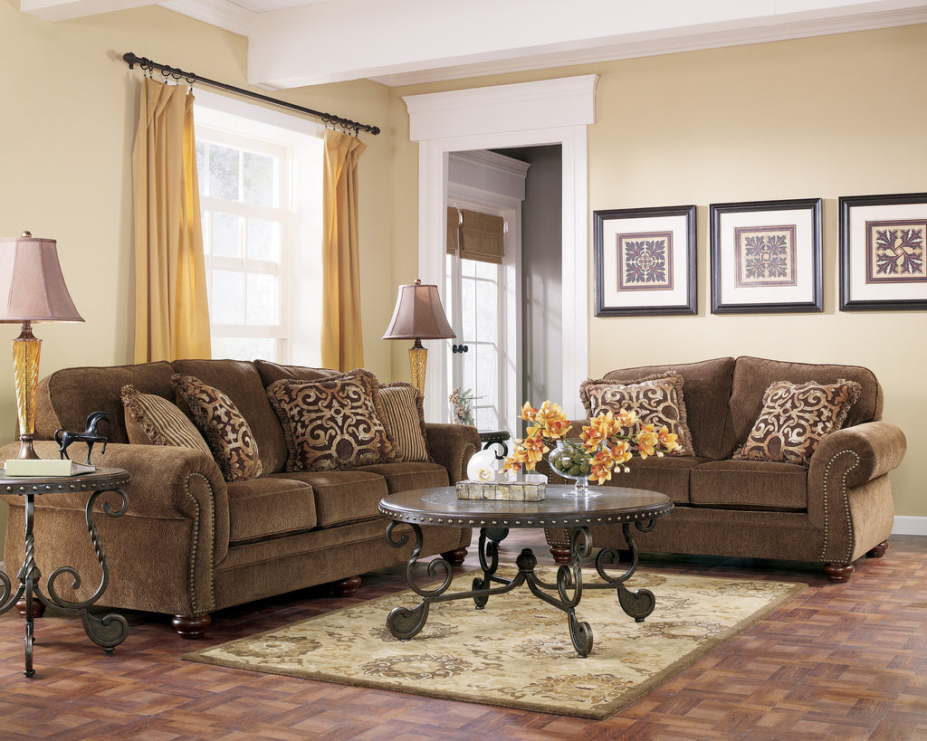ASHLEY 6 SEATER FABRIC SOFA SET (3+2+1) Model :51600