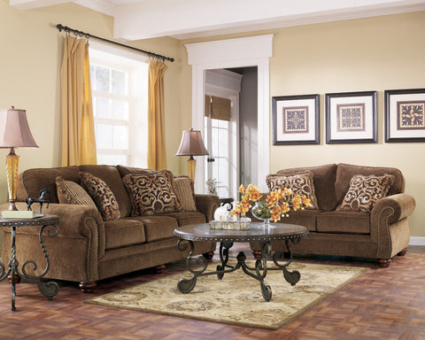 ASHLEY 6 SEATER FABRIC SOFA (3+2+1)