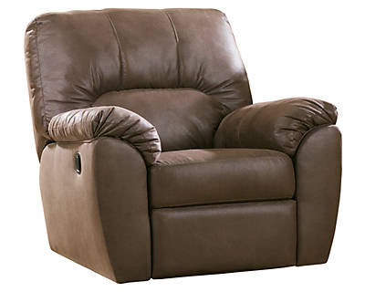 Ashley Leather Recliner Sofa