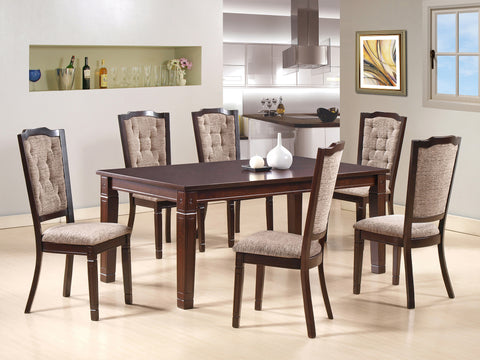 Cazorla 6 Seater Wooden Dining Table
