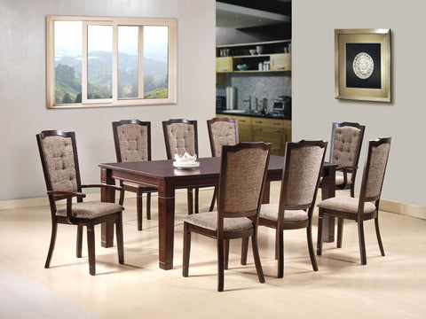 Cazorla 8 Seater Wooden Dining Table