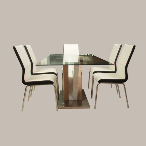 Glass Dining Table (DT846)