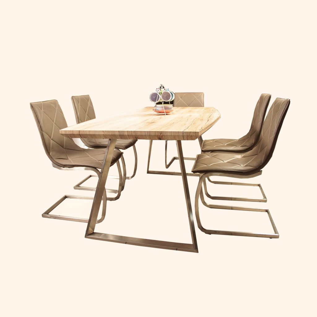 Wooden Dining Table (DT854)