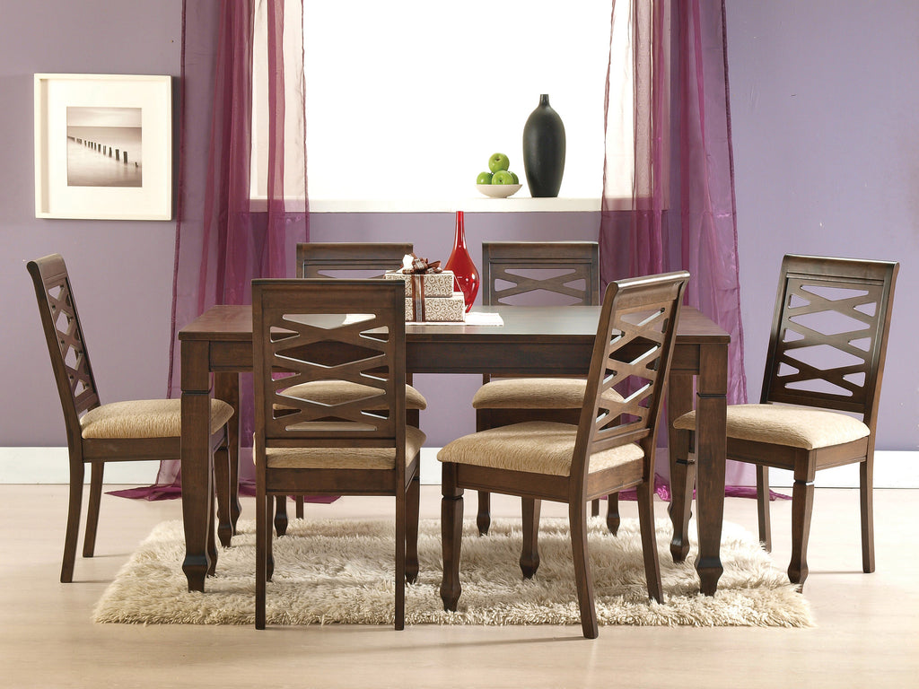 Nairobi 6 Seater Wooden Dining Table