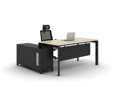 Executive Table + Side Return Table - T-DB1616R/1816R