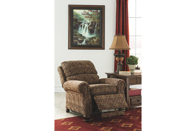 Ashley Single Fabric Recliner