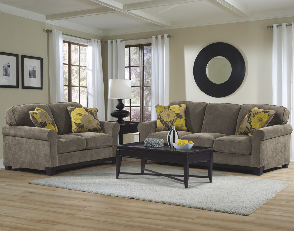 ASHLEY 6 SEATER FABRIC SOFA SET (3+2+1) Model:U95000