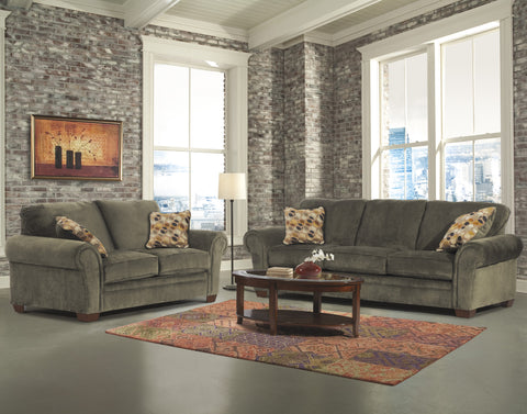 ASHLEY 6 SEATER FABRIC SOFA SET(3++2+2)U95100