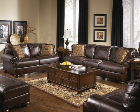ASHLEY 6 SEATER LEATHER SOFA SET (Model:4200023)