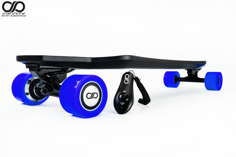 "SECURE AN - INFINITY - ""DUO"" - Carbon Electric Skateboard - FOR A $1 DEPOSIT"