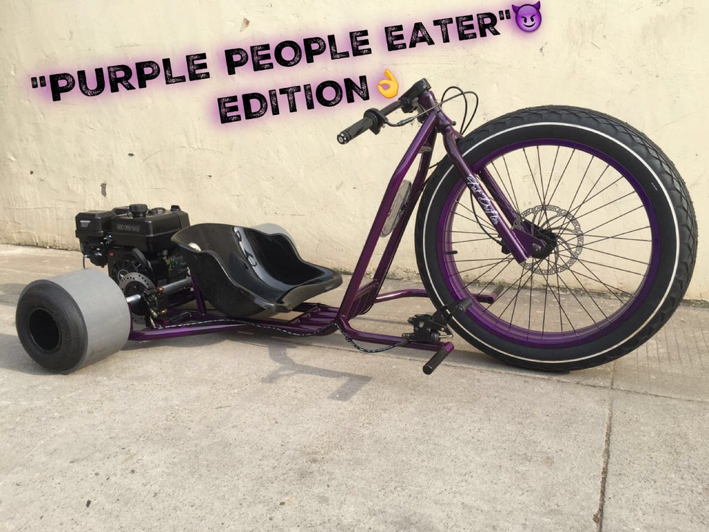 "READY TO GO - FAT DRIFTER - ""PURPLE PEOPLE EATER"" EDITION - Lovett Industries"